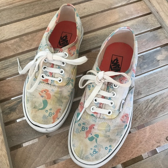 71ea1697b8689e Vans Shoes - Disney Vans- the little mermaid